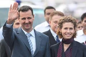 قهرمانی دختر بشار اسد در ایران + عکس