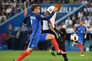 نتیجه دیدار فرانسه و آلمان در یورو 2016