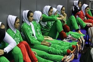 نهمی والیبال دختران ایران در مسابقات قهرمانی آسیا