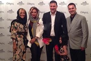 مراسم افتتاح مغازه جدید علی دایی + تصاویر