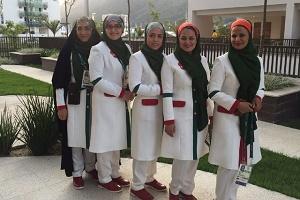 دختران ایران با لباسهای مخصوص افتتاحیه المپیک 2016 +عکس