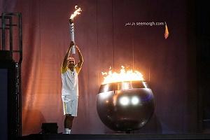 عکس های روشن شدن آتش المپیک 2016