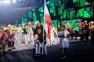 حمله به چادر بانوی ایرانی در المپیک 2016