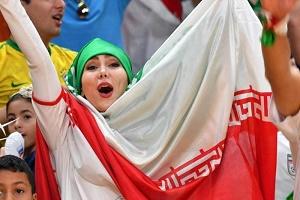 تماشاگران ایرانی والیبال در المپیک 2016 + تصاویر