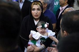 عکس بهداد سلیمی در کنار همسر و دخترش پس از شرکت در المپیک ریو