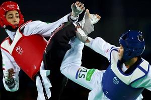 کیمیا علیزاده در المپیک 2016 تاریخساز شد