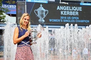 کربر بانوی شماره یک تنیس جهان لقب گرفت