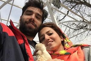 تولد رمانتیک خواهر ستاره والیبال ایران