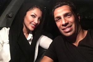سپهر حیدری و همسرش در ارتفاعات شمال