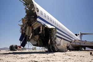 سقوط هواپیمای حامل بازیکنان یک باشگاه فوتبال