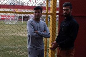 تیپ محسن مسلمان و رامین رضاییان در دومین روز جشنواره فجر ۳۵