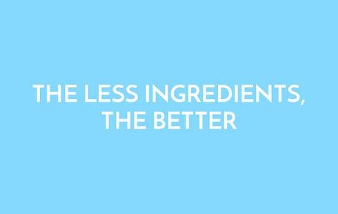 هر چه مواد تشکیل دهنده لوبریکانت ها کمتر باشد، بهتر است