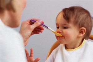 غذای کودک ضعیف