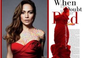 ست کردن لباس شب به سبک Jennifer Lopez