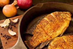روش تهیه ماهی كبابی