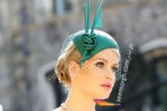 عروسی مگان مارکل : مدل کلاه زنان مشهور