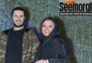 عکس های جدید جواد عزتی و همسرش مه لقا باقری در اکران سیانور