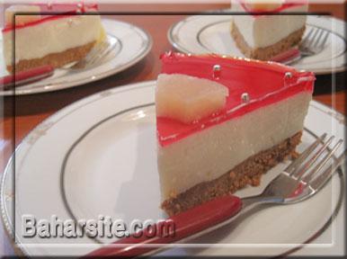 اموزش حنا به شکل کیک دو طبقه پرشین پت طرز تهیه چیز کیک یخچالی