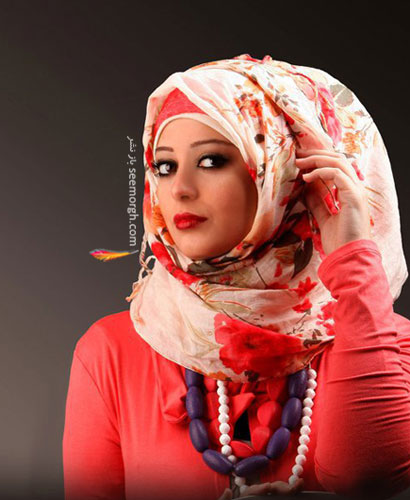 بستن روسری چهار گوش لبنانی مدل هایی زیبا برای بستن شال و روسری