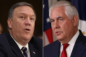 رئیس سازمان جاسوسی سیا جایگزین وزیر امور خارجه آمریکا شد!