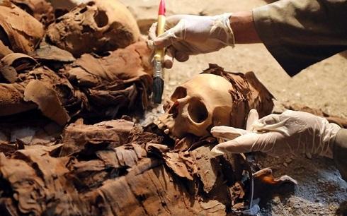 مومیایی یک نجیب زاده در مصر