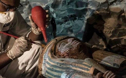 گنجینه ای با قدمت 3500 سال در مصر