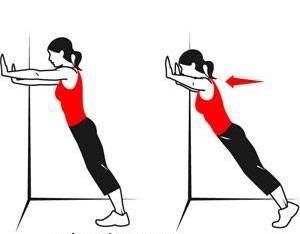 تمرین پوش آپ ( push up )برای سفت کردن و کوچک کردن سینه ها