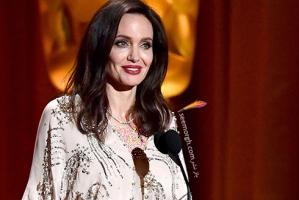 مدل لباس های آنجلینا جولی در مراسم Governors Awards