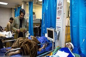 تعداد مصدومان زلزله کرمانشاه به 9388 نفر رسید