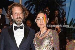 عکس های رومانتیک گلشیفته فراهانی و همسرش کریستوس دورج واکر در کن 2018