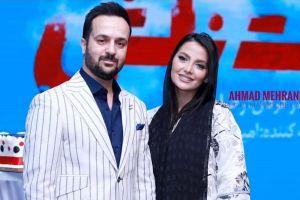 انتشار عکس عروسی احمد مهرانفر و همسرش مونا فائزپور! عکس
