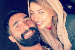 ابراز علاقه سمانه پاکدل به همسرش هادی کاظمی! عکس