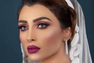 چهره الهام عرب به عنوان یک مدل آرایشی! عکس