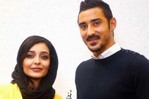 سفر ساره بیات به خارج از کشور برای دیدن خواهرزاده اش پسر رضا قوچان نژاد! عکس