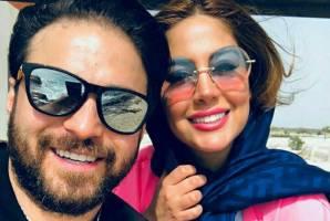 عکس های بابک جهانبخش و همسر دومش در کیش