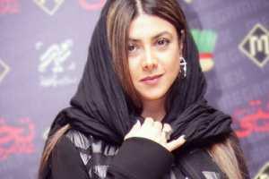عکس های آزاده صمدی در اکران فیلم غلامرضا تختی
