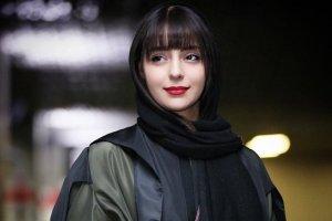 عکس جدید هستی مهدوی در جشنواره فیلم فجر