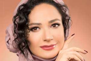 نسرین نصرتی بازیگر نقش فهیمه پایتخت به عنوان مدل آرایشی+عکس