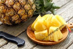 چرا نباید زیاد آناناس بخورید؟