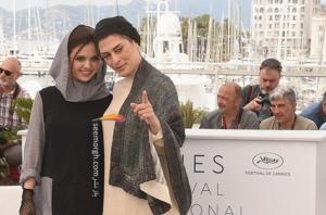 جشنواره کن 2018:مدل لباس بهناز جعفری، مستانه مهاجر و مرضیه رضایی