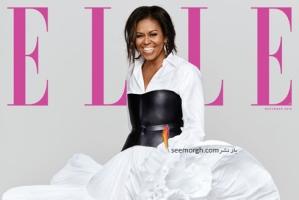 جدیدترین عکس های میشل اوباما روی مجله مد ال