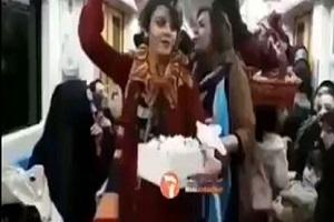 بازداشت زنی که در مترو کشف حجاب کرد