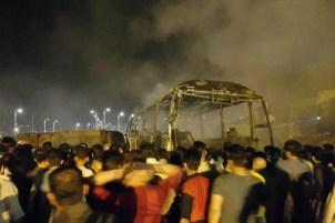 تصادف تانکر نفتکش با اتوبوس هیچگونه ارتباطی به سپاه ندارد