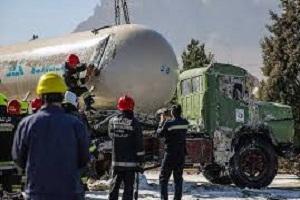 6 کشته و زخمی نتیجه ورود تانکر گاز به سوپرمارکت در میناب