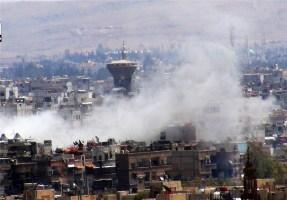 حمله موشکی اسرائیل به اطراف فرودگاه دمشق