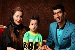 عکس: علیرضا بیرانوند در کنار همسرش و دخترشان بارانا