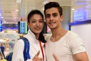 عشقی و عاشقی ورزشکار کشورمان و ازدواج با ورزشکار زن ترکیه ای! عکس