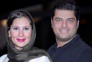 موتورسواری سام درخشانی همراه همسرش! عکس