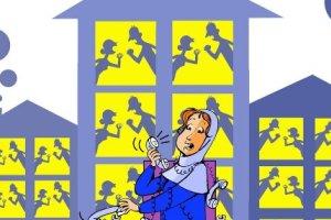کارتون روز: افزایش عجیب اختلافات زن و شوهری در قرنطینه!