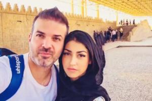 پست اینستاگرامی همسر استراماچونی واکنش جالبش به قطعی اینترنت در ایران
